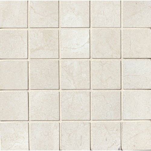 "Marfil 2"" x 2"" Floor & Wall Mosaic in Alabaster"