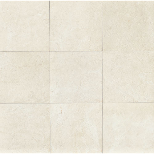 "Marfil 12"" x 12"" Floor & Wall Tile in Alabaster"