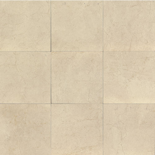 "Marfil 12"" x 12"" x 3/8"" Floor and Wall Tile in Bianco"