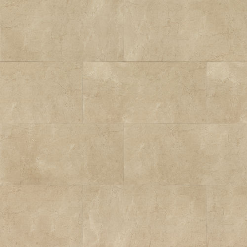 "Marfil 12"" x 24"" Floor & Wall Tile in Crema"