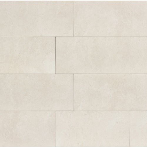"Marfil 18"" x 36"" Floor & Wall Tile in Alabaster"