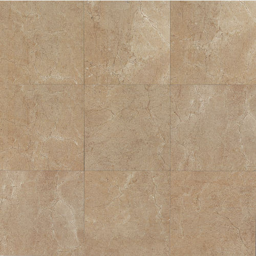 "Marfil 20"" x 20"" x 5/16"" Floor and Wall Tile in Noce"