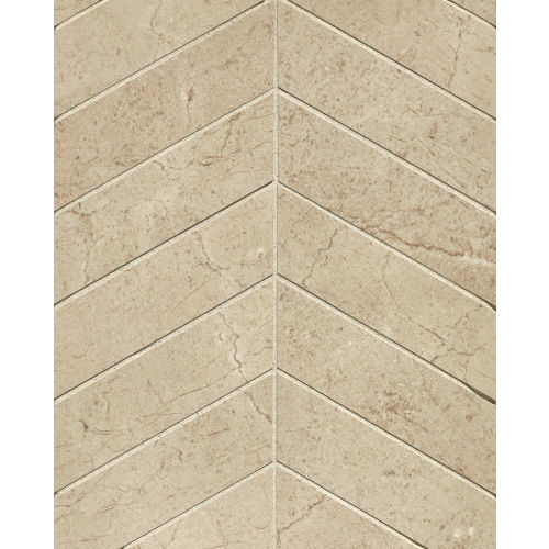"Marfil 2"" x 2"" Floor and Wall Mosaic in Crema"