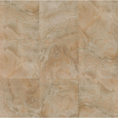 "Onyx 20"" x 20"" Floor & Wall Tile in Camel"