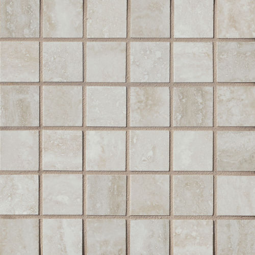 "Phoenix 1-9/16"" x 1-9/16"" Floor & Wall Mosaic in Silver"