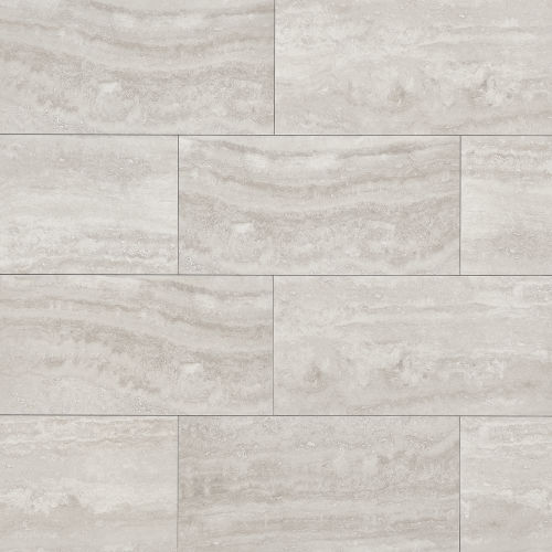 "Phoenix 12"" x 24"" Floor & Wall Tile in Silver"