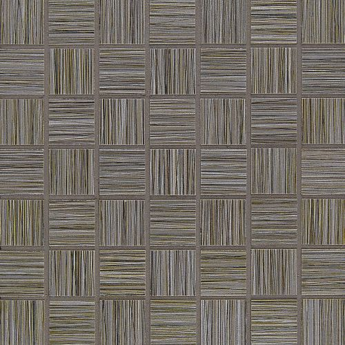 "Runway 1-1/2"" x 1-1/2"" Floor & Wall Mosaic in Taupe"