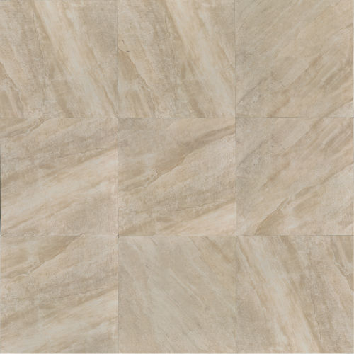 "Stone Mountain 20"" x 20"" Floor & Wall Tile in Alabaster"