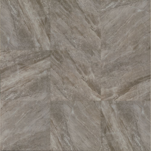 "Stone Mountain 20"" x 20"" Floor & Wall Tile in Gris"