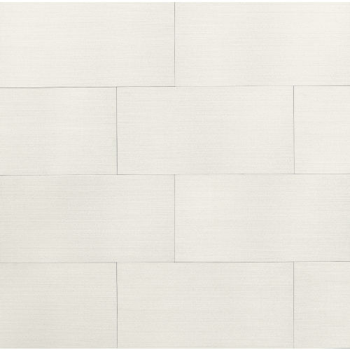 "Strands 12"" x 24"" Floor & Wall Tile in White"