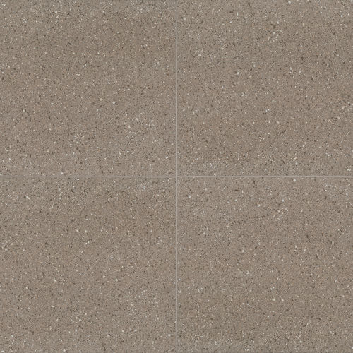 "Terrazzo 20"" x 20"" Floor & Wall Tile in Medium Gray"