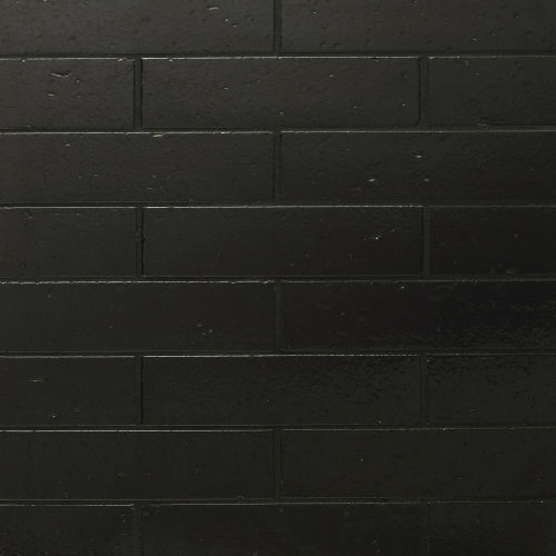 "Uptown 2.5"" x 9.5"" Floor & Wall Tile in Metallic Black"