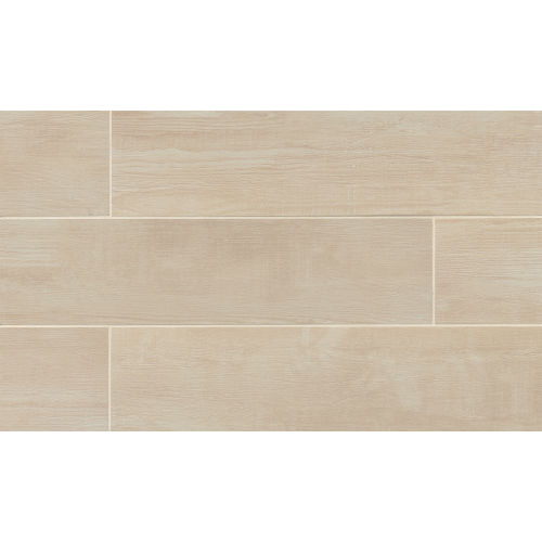 "Bayou Country 8"" x 24"" Floor & Wall Tile in Blanc"