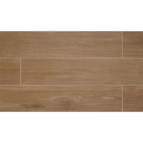 "Chesapeake 8"" x 24"" Floor & Wall Tile in Walnut"