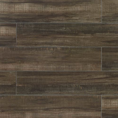 "Forest 8"" x 36"" Floor & Wall Tile in Black"