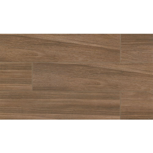"Kensington 8"" x 24"" Floor & Wall Tile in Walnut"