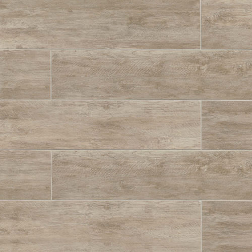 "River Wood 8"" x 36"" Floor & Wall Tile in Oak"