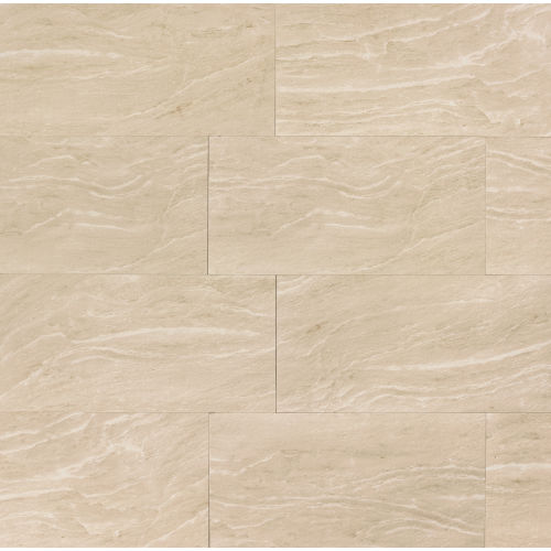 "Yosemite 12"" x 24"" x 3/8"" Floor and Wall Tile in Beige"