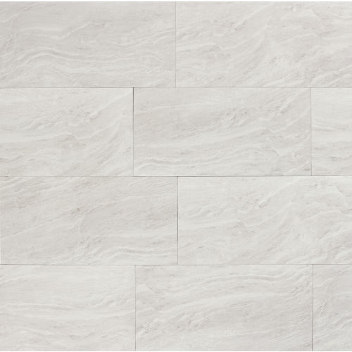 "Yosemite 12"" x 24"" Floor & Wall Tile in Silver"