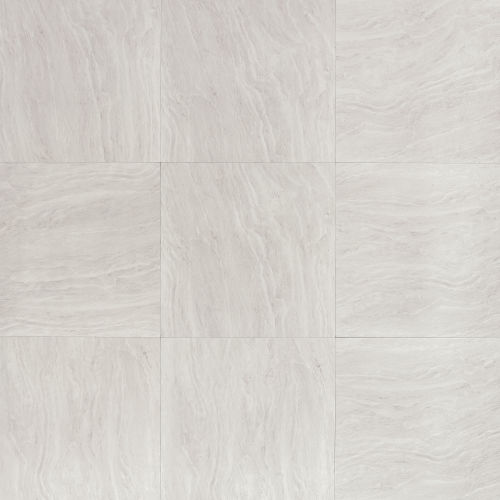 "Yosemite 20"" x 20"" x 3/8"" Floor and Wall Tile in Silver"