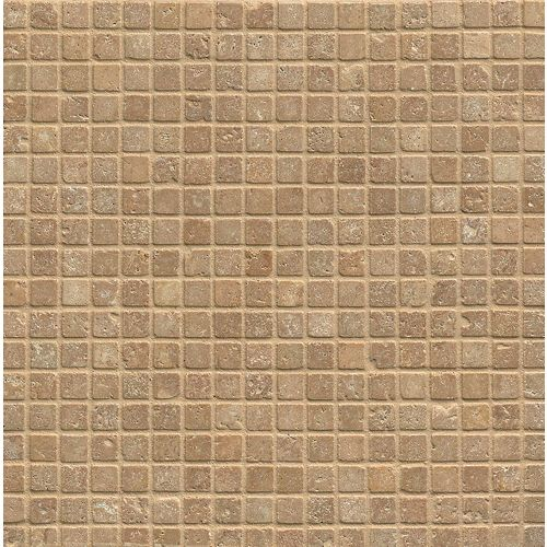 "Noce 3/4"" x 3/4"" Floor and Wall Mosaic"
