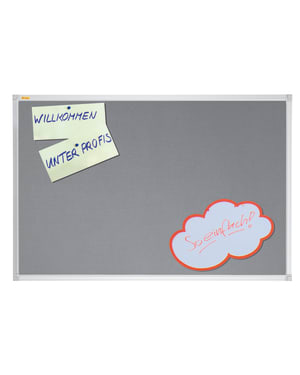 X-Tra!Line Grey Felt Noticeboard 600 x 450mm