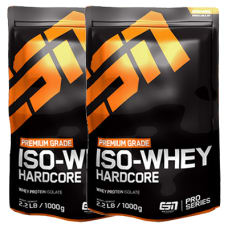 Iso Whey Hardcore 2er Pack