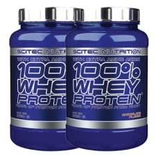 100% Whey Protein 2er Pack