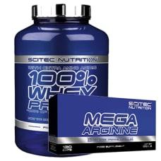 100% Whey Protein + GRATIS Mega Arginine