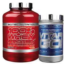 100% Whey Protein Prof. + Vitargo