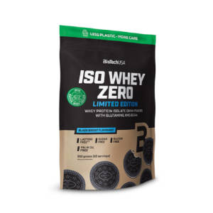 Iso Whey Zero black biscuit