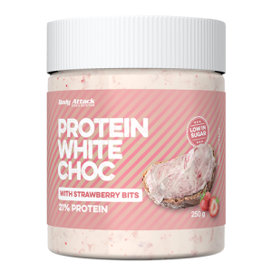 Protein CHOC -  	White Chocolate Strawberry