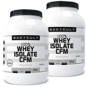 100% Whey Isolate CFM 2er Pack