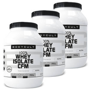 100% Whey Isolate CFM 3er Pack