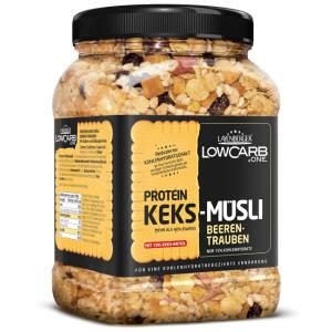 Protein Keks Müsli Beeren Traube