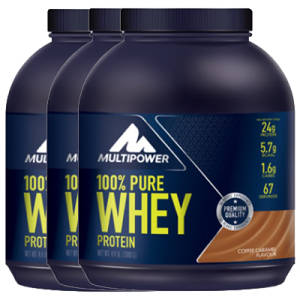 100% PURE Whey Protein 3er Pack