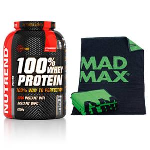 100% Whey Protein + Gratis Handtuch