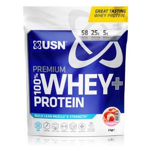 100% Premium Whey Protein +