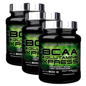 BCAA + Glutamin Xpress 3er Pack