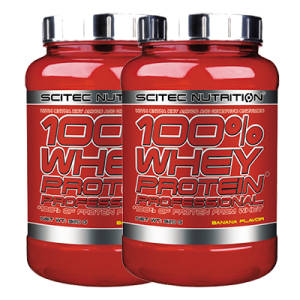 100% Whey Protein Prof. 2er Pack