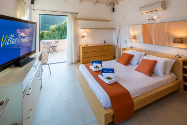 Sivota, Villa d'eccezione sulla spiaggia, con piscina privata e cinema 99