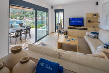 Sivota, Villa d'exception front de mer avec piscine  et cinema 99