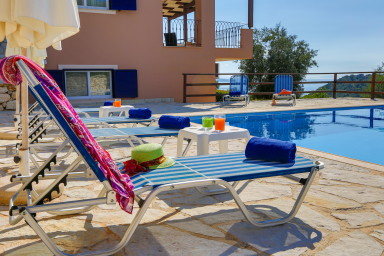 Villa Andromeda - Private Pool with Infinity View of Ionian Sea