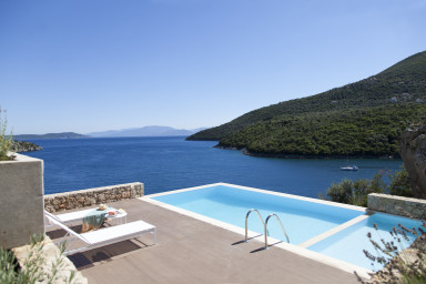 Villa Kalamos - Luxury Villa in Sivota Bay with Direct Access to Sea