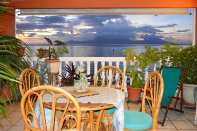 Suite Aute - Tahiti - bord de lagon, vue mer et piscine - 3 ch - 10 pers