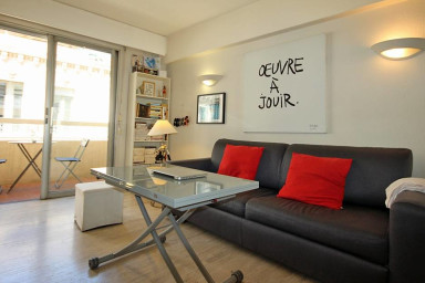 Charming flat next to the Croisette