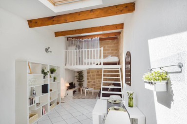 Charming Loft Historic Center, St Roch!