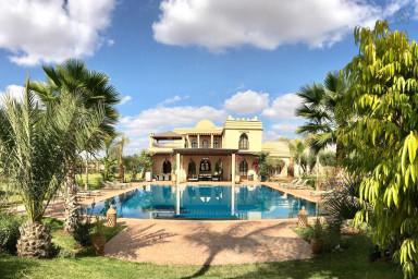 Sublime, Maison marocaine, piscine, jardin
