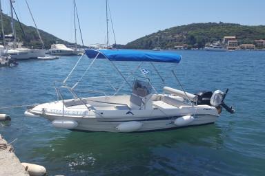 Motorboat for hire Sivota Lefkada