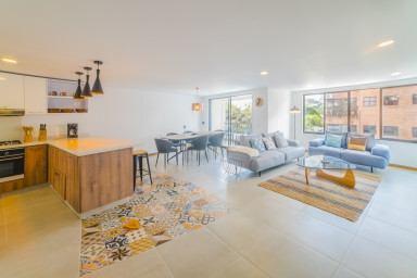 BRAND NEW,  Modern Three Bedroom Apartment In El Peñon